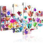 Tableau Imprimé Tulipes dans la Pluie - Paris Prix