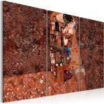 Tableau Klimt Inspiration Couleur de l'Amour 80x120cm - Paris Prix