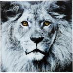 Tableau lion en verre Sharon