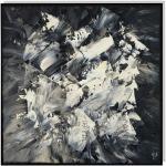 Tableau peinture abstrait clandestin