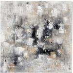 Tableau peinture abstrait follow me