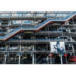 Tableau Photo Plexiglas Beaubourg 120x80cm - Paris Prix