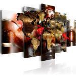 Tableaux noirs imprimé carte du monde