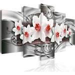 Tableau toile de décoration motif fleur blanche 200x100cm DEC110213/2
