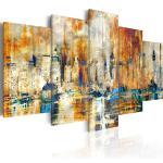 Tableau toile de décoration motif Mémoire de la cité 100x50cm DEC110969