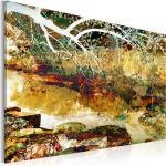 Tableau toile de décoration motif parc abstraction 90x60cm DEC110609