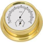 Talamex 125 Instrument de Bord - Thermomètre/hygromètre en laiton