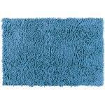 Tapis de bain Chenille bleu Océan, 50 x 80 cm WENKO