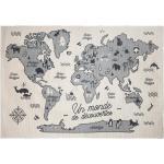 Tapis enfant Carte du monde 100x150 cm