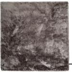 Tapis shaggy à poils longs Whisper Gris 60x60 cm - Tapis descente de lit