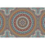 Tapisserie poster panoramique MANDALA 4 x 2,70 m | Déco et photo murale XXL Qualité HD Scenolia