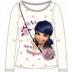 Tee Shirt Manches Longues Ladybug Miraculous Blanc