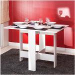 Temahome - Table pliante deux abattants blanche - OPTIMUM