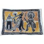 Tenture murale traditionnelle.Afrique, ethnique tribal