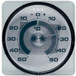 TFA Thermomètre de fenêtre plage de mesure -50 jusqu'à 50 degr.C T17mm plastique Quantité:10