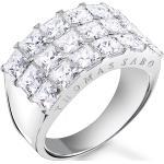 Bagues Thomas Sabo argentées en diamant gravés pour femme