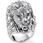 Thomas Sabo bague Lion argentato