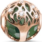 Thomas Sabo Bead arbre de vie vert vert
