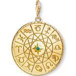 Thomas Sabo pendentif Charm médaille signe astrologique or couleur or jaune
