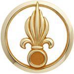 Toe 2 Toe Insigne De Béret Doré Légion Étrangère D'Infanterie