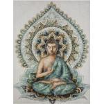 Toile imprimé Bouddha 58x78 cm