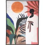 Toile imprimée Africa encadrée 58x78 cm