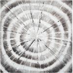 Toile peinte Spirales 78x78 cm