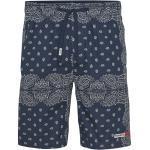 Shorts de basketball Tommy Hilfiger bleus look fashion pour homme