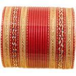 Touchstone 2 douzaines de Bracelets de Collection en Alliage de métal texturé Chaud Rouge des Bijoux de créateur Bracelets spéciaux pour Femme 2.75 Lot de 2 Grand Rouge