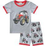 Vêtements rouges à motif tracteurs Taille naissance pour fille