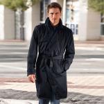 Trench-coat imperméable de Knirps®, homme, 46/48 - Noir