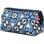 Trousse de toilette Reisenthel Travelcosmetic Floral 1 bleu
