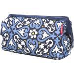 Trousse de toilette Reisenthel Travelcosmetic XL Floral 1 bleu