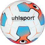 uhlsport Ballon de Football pour Enfant tri Concept 290 Ultra Lite 2.0 Blanc/Rouge/Bleu Fluo 100159401, Taille 5