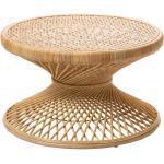 Ushuaia - Table basse vintage en rotin L ø80