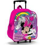 Valise Trolley Minnie Licornes