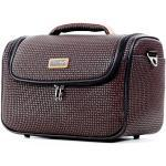 Vanity case souple Ted Lapidus Fidelio 37 cm Marron