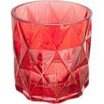 Vase décoratif Vase diamant rouge hauteur 20,2 cm