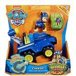 Vehicule + Figurine Chase Dino Rescue Paw Patrol (Solid) - La Pat' Patrouille