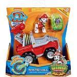 Vehicule + Figurine Marcus Dino Rescue Paw Patrol (Solid) - La Pat' Patrouille