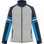 Veste Polaire Poivre Blanc Fleece Jacket 1610 Grey Melange/gothic Blue Homme