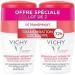 Vichy Déodorant Détranspirant Intensif 72h Roll-On Lot de 2 x 50ml