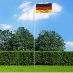 vidaXL Drapeau Allemagne 90x150 cm