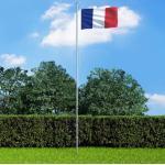 vidaXL Drapeau français 90x150 cm