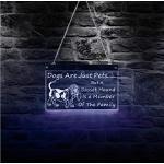 Wangzhuoyue Basset Hound Dog Est Un Membre De La Famille Électrique Led Enseigne Au Néon Cadeau Pour Chien Amoureux Des Chiots Pet Shop Wall Decor Affichage