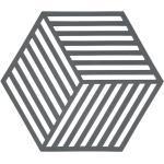 Zone Denmark - Hexagon plat hexagonal, gris